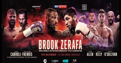Kell Brook vs Zerafa Tickets