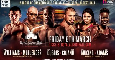 frank warren announces royal albert hall show