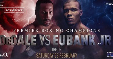 de gale vs eubank jnr