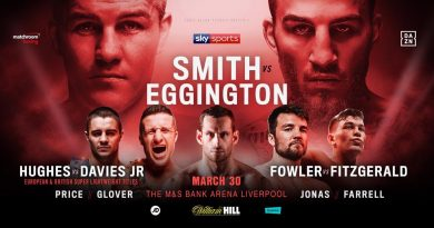 smith vs eggington tickets