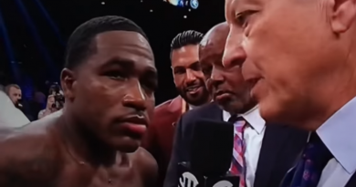 andrien broner goes off at showtime's Jim Gray