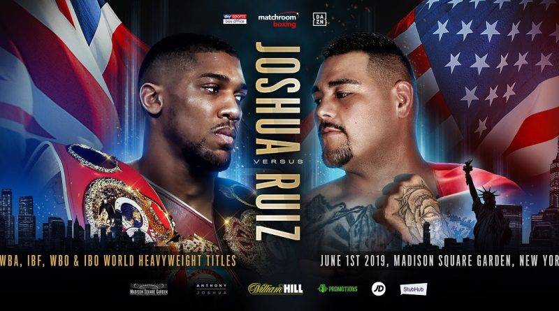 anthony joshua vs andy ruiz jr tickets