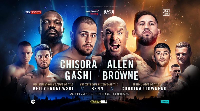 dave allen vs lucas browne tickets