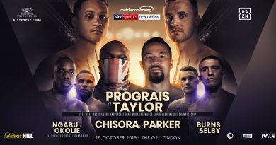 prograis vs taylor and chisora vs parker
