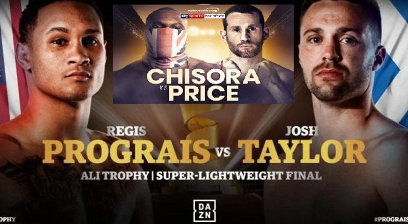 prograis vs taylor and chisora vs price