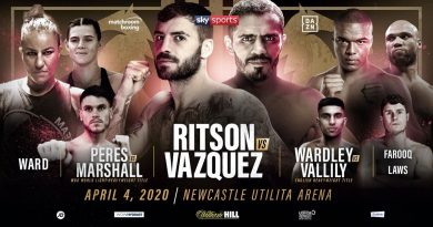 ritson vs vazquez tickets