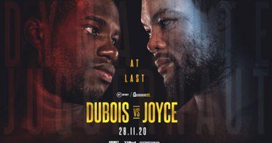 dubois vs joyce not on box office
