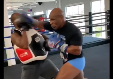 mike tyson training video