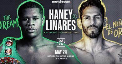 haney vs linares tickets