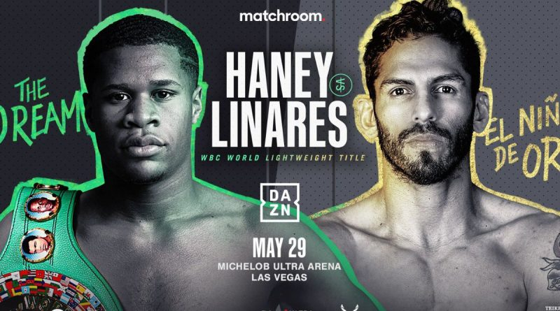haney vs linares tickets