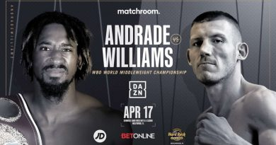watch andrade vs williams